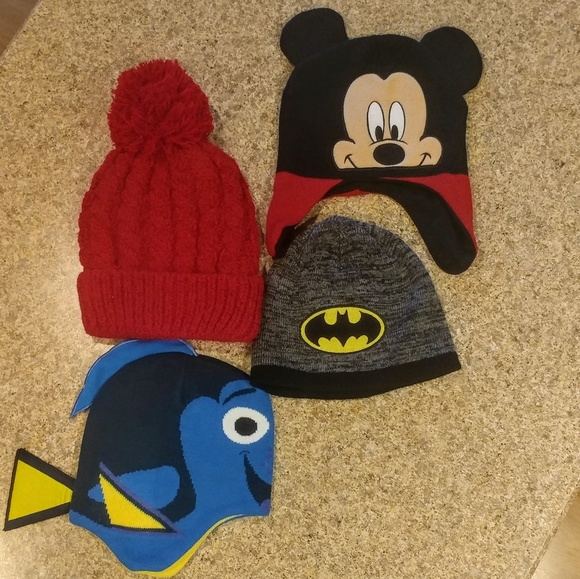 e208222b04f Disney Other - Winter Hat Bundle of 4 Baby to Toddler OSFM